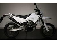 2016 65 SINNIS APACHE 125 WHITE!