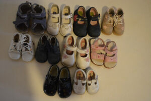 Baby & Girls Shoes - size 2 - 8 - Stride Rite, Timberland, etc.