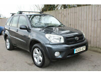 2005 05 Toyota RAV4 2.0 VVT-i XT5 4X4 5 SPEED LEATHER SEATS 38.7 MPG