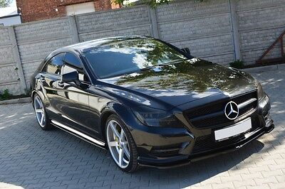 Carbon Cup Spoilerlippe Mercedes Benz CLS W218 Lippe Spoiler Diffusor schwert