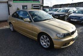 BMW 320 2.0TD 2004MY Cd 2 DOOR COUPE+GLORIOUS GOLD