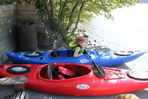 12.5' Touring Kayaks for Sale (used four times) Like New!