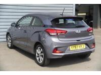 2017 Hyundai i20 1.2 SE (84PS) Petrol grey Manual
