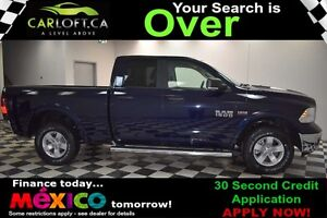 2017 RAM 1500 OUTDOORSMAN QUAD 4X4 - LOW KMS**KEYLESS ENTRY