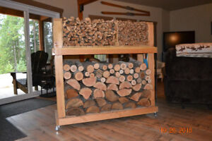 HEAVY DUTY INDOOR FIREWOOD CARTS