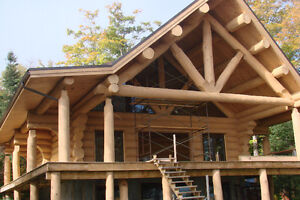 handcrafted log homes  monster logs Kitchener / Waterloo Kitchener Area image 10