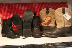 Kids riding boots, english and western
