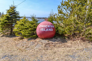 3 Acres Ocean Frontage with Island in Lawrencetown-min from City