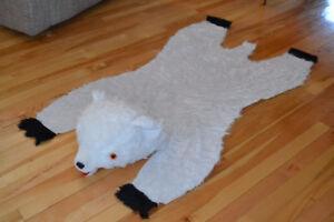 Tapis ours pour chambre d'enfant