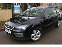 Ford Focus 1.6 Zetec Climate 5 Door Black Long MOT Great Family Car Finance Avai