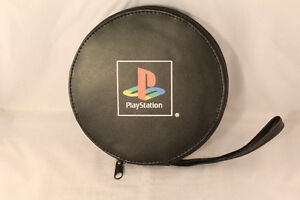 Retro Playstation CD Pouch Case