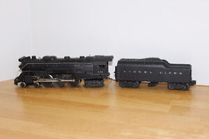 LIONEL TRAINS 646 STEAM ENGINE AND TENDER