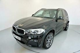 image for 2017 BMW X5 3.0 XDRIVE30D M SPORT 5d AUTO 255 BHP-1 OWNER CAR-HEATED IVORY WHITE