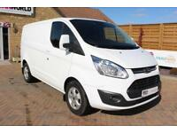 2015 FORD TRANSIT CUSTOM 270 TDCI 125 L1 H1 LIMITED SWB LOW ROOF FWD VAN SWB DIE