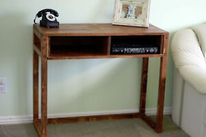 Solid wood Console/sofa table.