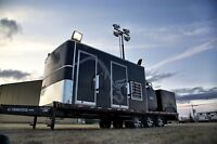 Light Towers, Heated Bathrooms, trailer Units for SALE