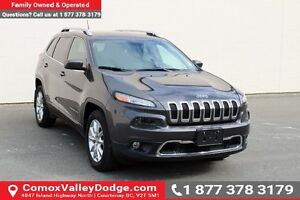 2015 Jeep Cherokee Limited BLUETOOTH, HEATED SEATS, NAV, KEYL...