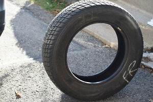 Wingueard winter tires 225/65R17 Use one winter