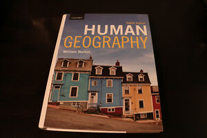 HUMAN GEOGRAPHY - Eighth Edition - Mint Condition, Hardcover Edmonton Edmonton Area image 1