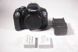 Price Lowered! Canon Rebel T3i w/2Batteries, Charger