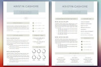 Resume writing and design $20