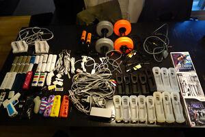 Lot d'accessoires pour la Wii