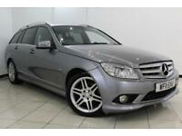 2011 11 MERCEDES-BENZ C CLASS 3.0 C350 CDI BLUEEFFICIENCY SPORT 5DR AUTO 231 BHP