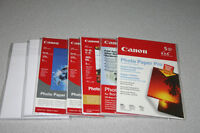 Canon 4 X 6 Photo Paper - Approx. 50 Sheets