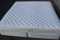KING size SEALY Orthopedic mattress with box-spring