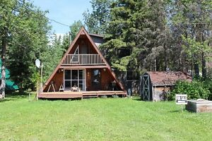 A Frame Cabin with wonderful addition at KIV/MLB Turtle Lake!