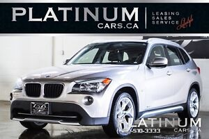 2012 BMW X1 xDrive28i/ LEATHER/ SUNROOF/ CANADIAN/ 17INC ALLOY