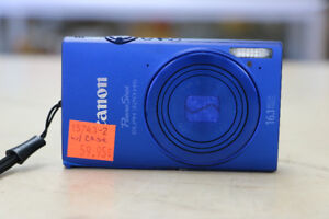 ** SO BLUE ** Canon PowerShot ELPH 320 HS Digital Camera
