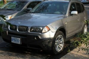 BMW  X3, 2004 with 136k KMs,AWD FULLY LOADED