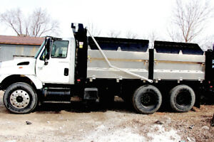 2005 Dump Truck / Landscape Box / with 10 Ton Miska Trailer