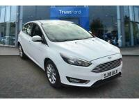 2018 Ford Focus 1.0 EcoBoost 125 Titanium 5dr with Satellite Navigation and Rear