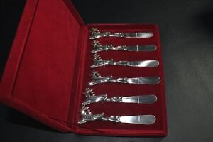 6 Christmas Reindeer cheese butterspreader knives Rudolph & More Kingston Kingston Area image 10