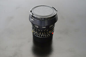 Leica 35mm Summicron with lens hood