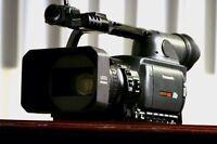 Panasonic HVX-200 HD camera w/ memory card