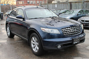 2005 Infiniti FX35 AWD *ONE OWNER | NO ACCIDENTS | CLEAN*