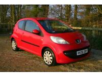PEUGEOT 107 URBAN done 75478 Miles with NEW MOT and SERVICE HISTORY