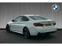 2019 BMW 4 Series 430i M Sport Coupe Auto Coupe Petrol Automatic