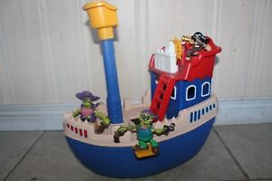 Little Tikes Ship Including Figures