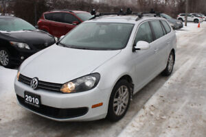 2010 Volkswagen Golf Wagon | Safetied | Heated Seats | One Owner