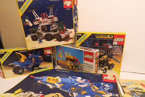 LEGO  boxes only  1970's to 1980's  SPACE LEGO