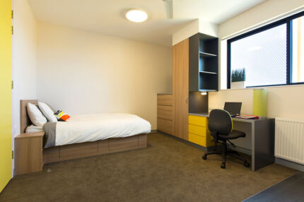 Student apartments on-campus at Western Sydney University Penrith
