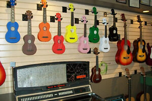UKULELES STARTING AT 39.95