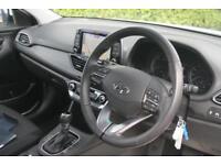 2017 Hyundai i30 1.6 CRDi (109ps) SE Nav DCT Diesel white Semi Auto