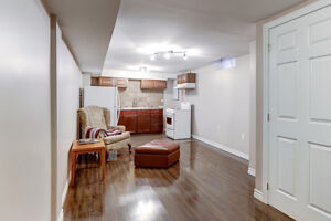 Beautiful 3 Bedroom Basment with  Seperate Entrance