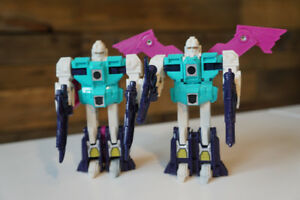 Transformers G1 Wingspan and Pounce 100% Complete Vintage