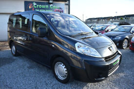 Peugeot Expert 1.6HDi ( 90bhp ) Tepee WITH WHEEL CHAIR ACCESS RAMP